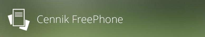Cennik FreePhone