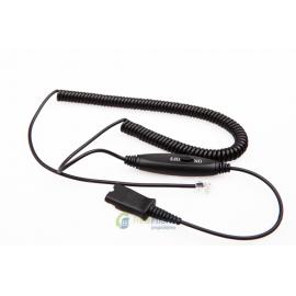 VT QD-RJ09-plug(05)-yellow-ctrl