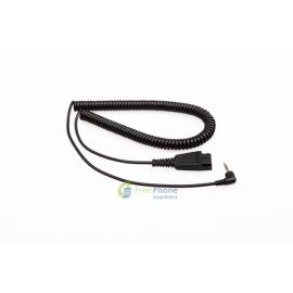 VT QD-2.5mm-plug