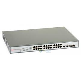 Switch zarządzalny PoE ULTIPOWER 2224af 802.3af 24xFE (24xPoE), 2xSFP (lub 2xGE)