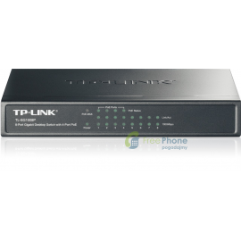 TP-Link TL-SG1008P switch PoE - 4 porty