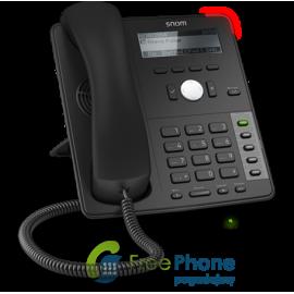 SNOM Telefon Biurkowy D712