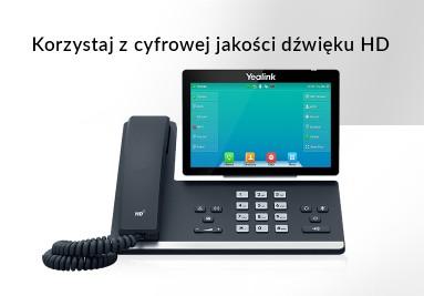 Telefony SIP Yealink
